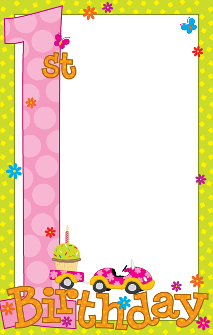 Blank Birthday Invitations Cake Ideas And Designs