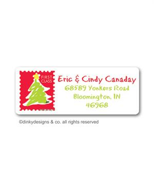 Letter To Santa Return Address Labels